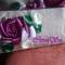 Купить Комплект сумка и косметичка Розы, Вышитые, Повседневные, Женские сумки, Сумки и аксессуары ручной работы. Мастер Инна Саченок (InnaSa) .