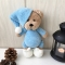 Купить Плюшевый мишка в пижаме ручной работы, Мишки, Зверята, Куклы и игрушки ручной работы. Мастер Юлия Жарчук (plushigrush) . вязание для детей