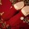 Купить Вязанные тапочки, Домашние тапочки, Обувь ручной работы. Мастер Наталья Шильдт (Natashenka) . тапочки