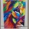 Купить Лев Поп-арт, Животные, Картины и панно ручной работы. Мастер Алексей Лаенко (Aleks1) . картина холст