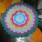 Купить Цветок, Декоративные салфетки, Текстиль, ковры, Для дома и интерьера ручной работы. Мастер Марина Елистратова (Marina87) .