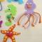 Купить Игрушки на магнитах МОРСКОЙ МИР (наборы для творчества), Развивающие игрушки, Куклы и игрушки ручной работы. Мастер Елена Птичкина (Hvostiki) . раннее развитие