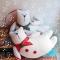 Купить Новогодние котики, Коты, Зверята, Куклы и игрушки ручной работы. Мастер Нафсет Кокенко (Nafset) .