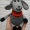 Купить Вязаная овечка, Другие животные, Зверята, Куклы и игрушки ручной работы. Мастер Ольга Ершова (olka25) . игрушка овечка