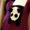 Купить Шарф  Панда , Шарфы, шарфики и снуды, Аксессуары ручной работы. Мастер Дарья Амплеева (Darya-32) . вязаный шарф крючком
