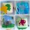 Купить Развивающий кубик простой, Развивающие игрушки, Куклы и игрушки ручной работы. Мастер Полина Беляева (PolinaFyrtad) . развивающие