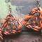 Купить Африканские мотивы, Полимерная глина, Комплекты украшений, Украшения ручной работы. Мастер Инесса Пасюгина (Iness) . вощёный шнур