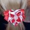 Купить Заколка - атласный цветок, Заколки, Украшения ручной работы. Мастер Татьяна  (Hosta) . авторская заколка для волос