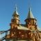Купить Макет храма, Сувениры, Русский стиль ручной работы. Мастер Виктор  (Vikont1970) . натуральное дерево