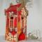 Купить Чайный домик Красный, Кухонная утварь, Кухня, Для дома и интерьера ручной работы. Мастер Инна Лебединская (InnaLe) . подарок в дом