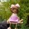Купить Куколка-девочка, Вязаные, Человечки, Куклы и игрушки ручной работы. Мастер Рамзия Решетникова (Ramremik) . интерьерная кукла