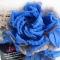 Купить Брошь заколка Голубая роза, Текстильные, Броши, Украшения ручной работы. Мастер Лариса Шушпанова (LShushpanova) . брошь заколка