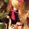 Купить Снежка, Текстильные, Коллекционные куклы, Куклы и игрушки ручной работы. Мастер Сана Куклы (Sana) .