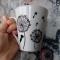 Купить Керамическая кружка Одуванчики, Кружки и чашки, Посуда ручной работы. Мастер Анна Мотева (Dgokonda) . керамическая кружка