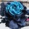 Купить Цветы из ткани брошь роза Сальери, Текстильные, Броши, Украшения ручной работы. Мастер Лариса Шушпанова (LShushpanova) . купить цветы из ткани