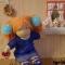 Купить Вальдорфская кукла Машенька, Вальдорфская игрушка, Куклы и игрушки ручной работы. Мастер Ирина Егорова (Cassiopeia75) . вальдорфская кукла
