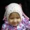 Купить Шапка шлем для девочки, Шапочки, шарфики, Одежда для девочек, Работы для детей ручной работы. Мастер Александра  (Sabrina) . шапка вязаная