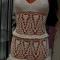 Купить пляжный сарафан, Пляжные, Платья, Одежда ручной работы. Мастер Дарья Амплеева (Darya-32) . вязанное платье