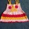 Купить Платье крючком, Платья, Одежда для девочек, Работы для детей ручной работы. Мастер Надежда Баринова (Naejda) . ажурное платье