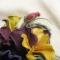 Купить Цветы из кожи Украшение брошь заколка АНЮТИНЫ ГЛАЗКИ, Кожаные, Броши, Украшения ручной работы. Мастер Ирина Влади (IrinaVladi) . цветы из кожи