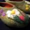Купить Тапочки с ромашками, Домашние тапочки, Обувь ручной работы. Мастер Татьяна Алескерова (altair005) . валяние из шерсти