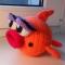 Купить Гламурная рыбка, Зверята, Куклы и игрушки ручной работы. Мастер Елизавета Базовкина (Amitoys) .