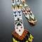 Купить Дым индейских костров, Бисер, Колье, бусы, Украшения ручной работы. Мастер Дарья Шулико (Dareios) .