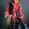 Купить Авторская кукла Баба Яга Цыганочка, Смешанная техника, Коллекционные куклы, Куклы и игрушки ручной работы. Мастер Елена Коноплина (Dizart) . кукла баба яга