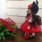 Купить Кукла интерьерная текстильная 30 см, Текстильные, Коллекционные куклы, Куклы и игрушки ручной работы. Мастер Елена Малинина (malinina74) . кукла текстильная