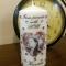 Купить Декоративная подарочная свеча, Для дома и интерьера ручной работы. Мастер Vintage Barrel (BarrelCandle) .