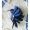 Купить Брошь - Синяя птица, Текстильные, Броши, Украшения ручной работы. Мастер Татьяна Никитина (Tatiyana) .