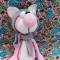 Купить Розовый кот, Коты, Зверята, Куклы и игрушки ручной работы. Мастер Марина Мандрик (Mamaarseniya) . кот вязаный