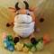 Купить Бычок Митя, Развивающие игрушки, Куклы и игрушки ручной работы. Мастер Ольга Колдомаева (4lapka) . игрушка