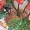 Купить корзина с антуриумами, Бисерные, Искусственные растения, Цветы и флористика ручной работы. Мастер Светлана Орлова (Totochka) . авторские подарки ручной работы
