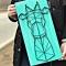 Купить Картина Жираф, Животные, Картины и панно ручной работы. Мастер Раиса Миникаева (art-gvozd) . нитки