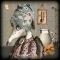 Купить крысёнок Плю, Текстильные, Коллекционные куклы, Куклы и игрушки ручной работы. Мастер Екатерина Ким (Kakimura) . наполнитель - синтепух