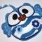 Купить Ключница-сова в голубом наряде, Футляры, очешники, Сумки и аксессуары ручной работы. Мастер Светлана Климова (Fetrushki) . фетр