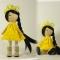 Купить Весенняя девочка, Текстильные, Человечки, Куклы и игрушки ручной работы. Мастер Любовь Свечина (Lyubov) . интерьерная кукла