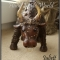 Купить Фигурка Бычок, Коровки и бычки, Зверята, Куклы и игрушки ручной работы. Мастер Юля Петрова (Juliett) .