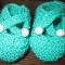 Купить Пинетки с пуговками, Пинетки, Для новорожденных, Работы для детей ручной работы. Мастер Елена Каретникова (idilveis) .