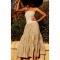 Купить Платье- бандо с вышивкой и пайетками, Шитые, Сарафаны, Платья, Одежда ручной работы. Мастер Лариса Коган (image4you) . трикотаж- лайкра