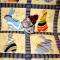 Купить Лоскутное одеяло Зайки на полянке, Лоскутные, Пледы и покрывала, Текстиль, ковры, Для дома и интерьера ручной работы. Мастер Фаина Гаврилова (gavr57faina) . лоскутное покрывало