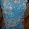 Купить Платье Голубая бирюза, Вязаные, Повседневные, Платья, Одежда ручной работы. Мастер Светлана Костюченко (Kvitka) .