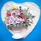 Купить Панно Сердцес пионами, Картины цветов, Картины и панно ручной работы. Мастер Елена Чупахина (CHELENA) . декор для интерьера