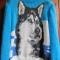 Купить Пуловер Симпатичная Хаска, Пуловеры, Кофты и свитера, Одежда ручной работы. Мастер Татьяна Гурова (SpicyStuff) .