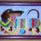 Купить Витражная картина Такса, Животные, Картины и панно ручной работы. Мастер Ирина  (ellu) . такса