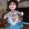 Купить Сударыня, Грелки для чайников, Кухня, Для дома и интерьера ручной работы. Мастер Светлана Осфальд (aksinia-29) . ткань
