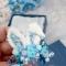 Купить Брошь голубая вышитая бисером с элементами плетения Заячьи ушки , Вышивка, Бисер, Броши, Украшения ручной работы. Мастер Ольга  (BROSHCLUB) . брошь из бисера купить