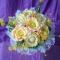 Купить Букет из гофрированной бумаги (свадебный), Букеты, Цветы и флористика ручной работы. Мастер Ирина Капуста (GreenKapusta) . гофрированная бумага