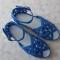 Купить Босоножки вязаные, Летняя обувь, Обувь ручной работы. Мастер Надежда Зыбина (89293221436) . натуральный хлопок